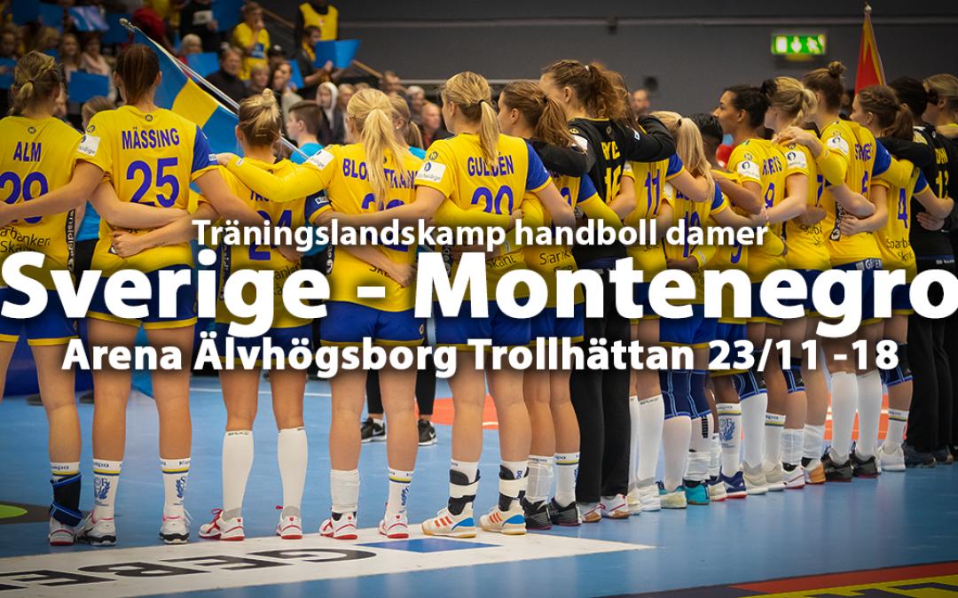 54 sportfoto: Sverige – Montenegro 28-30