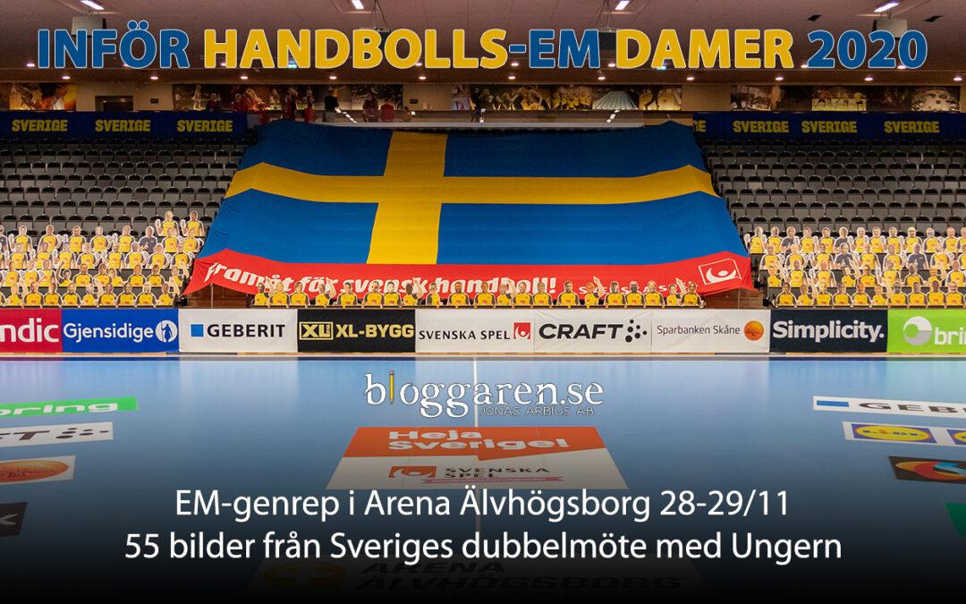 Sportfoto: Sverige – Ungern, dubbelmöte och EM-genrep